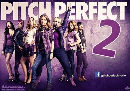 Pitch Perfect 2. Cause Pitch Perfect 1 just wasn't enough Perfect enough... pitch-wise.